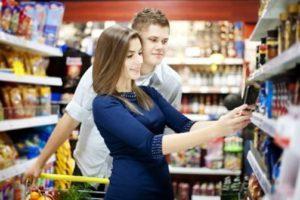 El móvil en la tienda