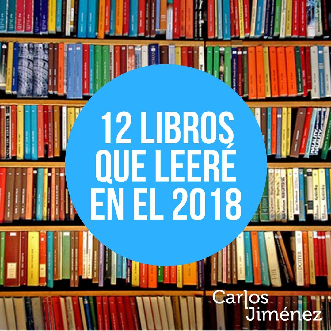 libros que quiero leer en el año 2018
