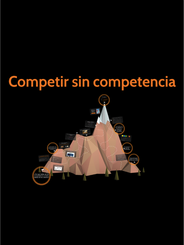 Competir sin competencia
