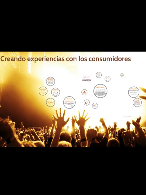 Creando experiencias con los consumidores