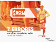 7 errores mas comunes de un maratón